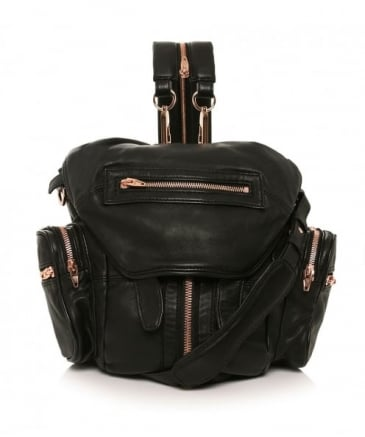 Mini Marti Leather Backpack