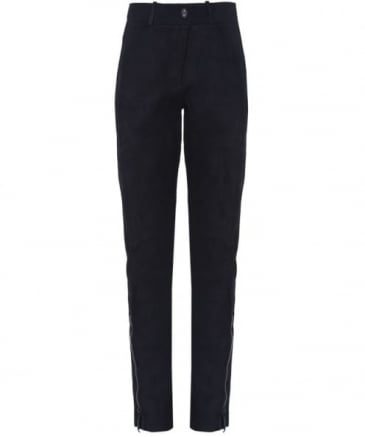 Zorro Leather Front Trousers