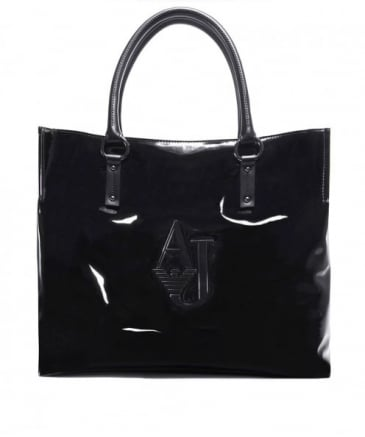 Gloss Leather Shopper Bag