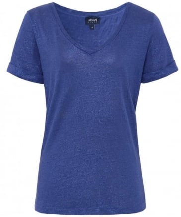 Linen Lurex Top