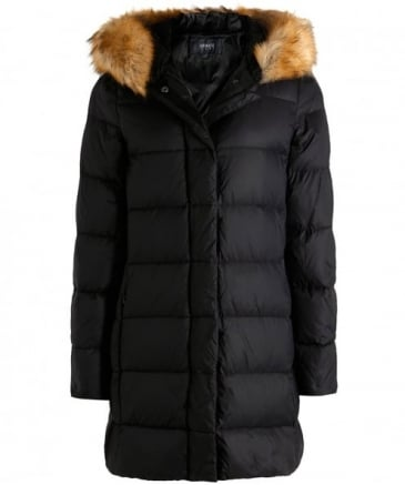 Padded Down Duvet Jacket