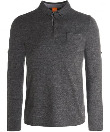 Long Sleeve Patcherman 1 Polo Shirt