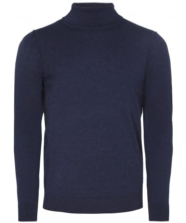 Virgin Wool Roll Neck Arkoll Jumper