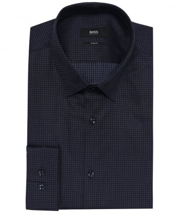 Slim Fit Patterned Isko Shirt