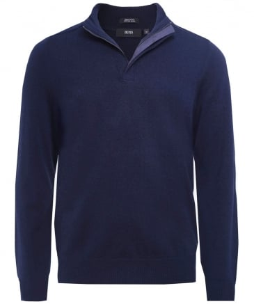 Virgin Wool Blend Napoleone Jumper