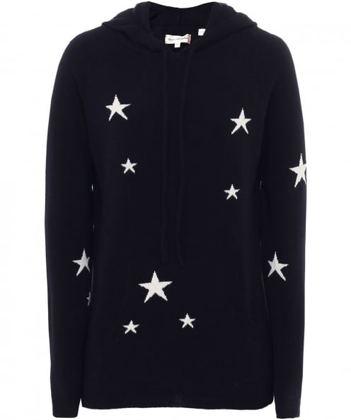 Chinti & Parker Cashmere Star Hoodie