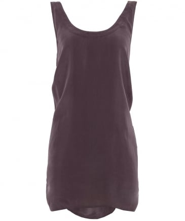 Cupro Tie Back Camisole Top