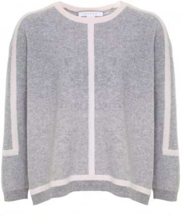 Cashmere Sporty Cropped Jumper
