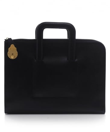 Calf Leather Bakerloo Portfolio Case