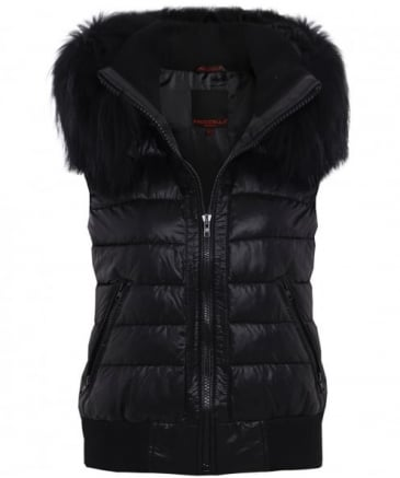 B-215 Quilted Down Gilet