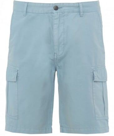 Cotton Bermuda Cargo Shorts