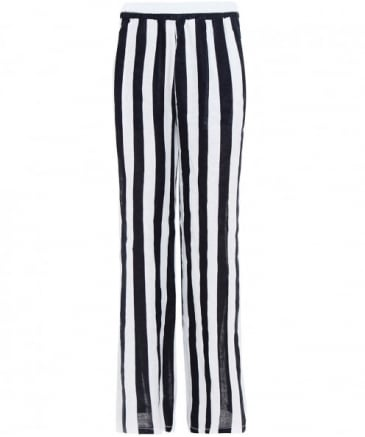 Striped Linen Trousers