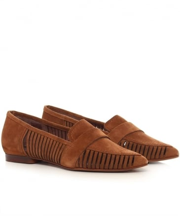Clara Suede Loafers