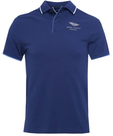 Slim Fit Piped Placket AMR Polo Shirt