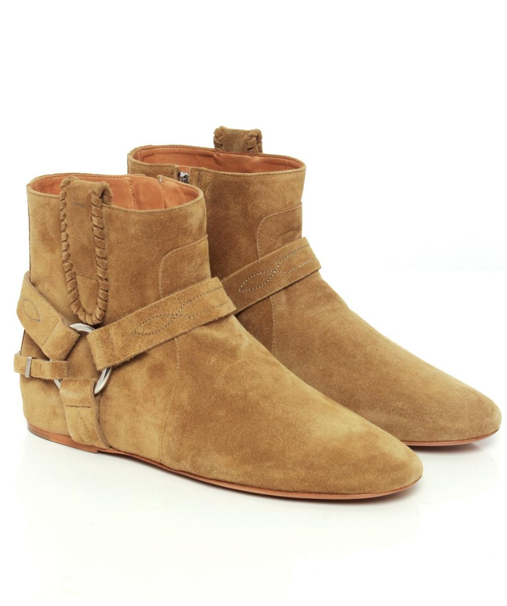 isabel marant suede ralph boots available at jules b. Black Bedroom Furniture Sets. Home Design Ideas