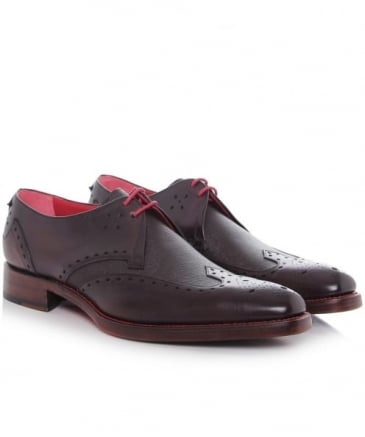 Dexter Code Wing Tip Shoes