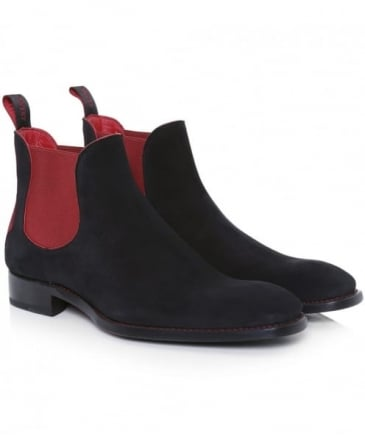 Suede Horror Show Libertine Chelsea Boots