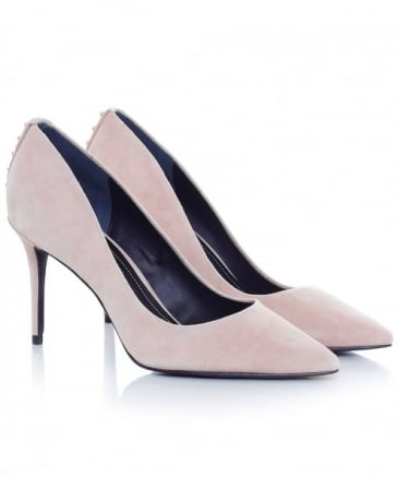 Suede Britney Court Shoes