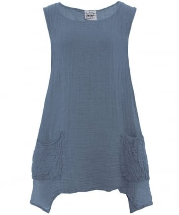 Canotta Tunic Top