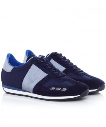 Leather Camoscio Trainers