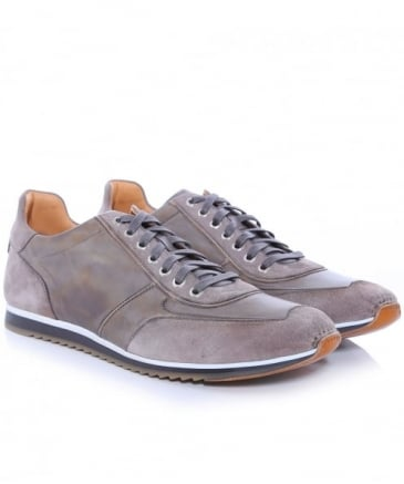 Leather Dep Trainers