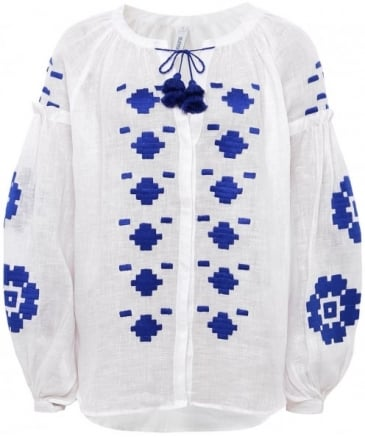 Embroidered Elle Blouse