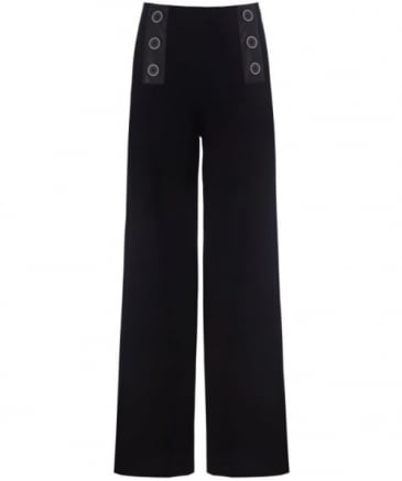 Frey Wide Leg Trousers