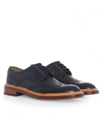 Leather Saunders Derby Shoes