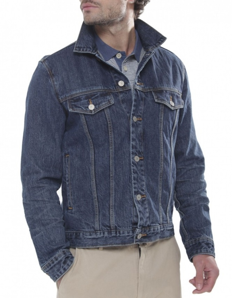 Paul Smith Jeans Classic Denim Jacket | JULES B