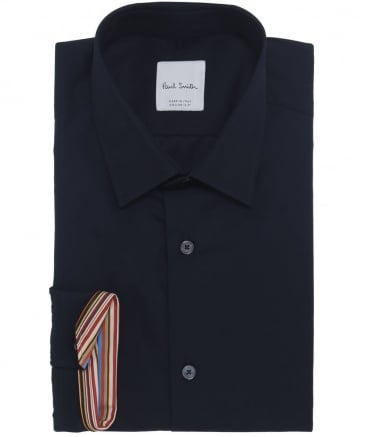 Tailored Fit Striped Cuff Shirt