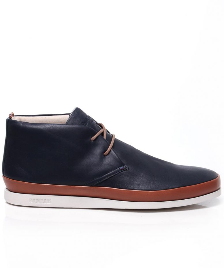 paul smith leather loomis boots available at jules b