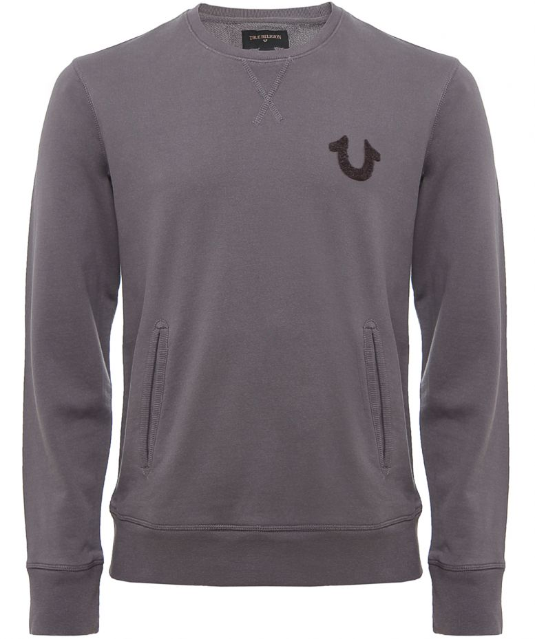 dd3c6412a Men s True Religion Crew Neck Sweatshirt available at Jules B