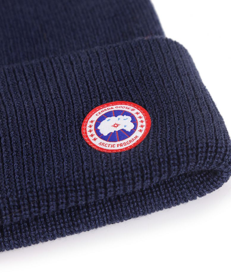 Canada Goose Merino Wool Watch Beanie Hat available at Jules B bb1f9deffb1