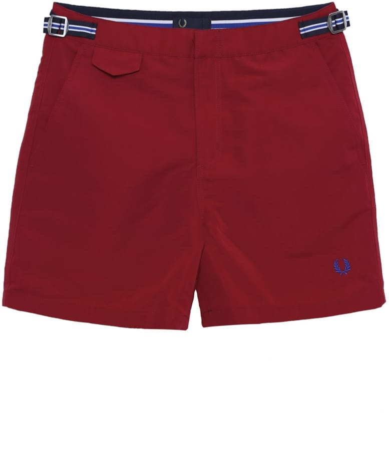 62c478278f Fred Perry Red Classic Swim Shorts | Jules B