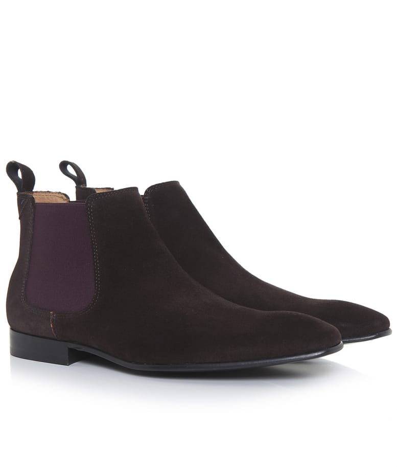 787fba07f70b Paul Smith Brown Suede Falconer Boots | Jules B