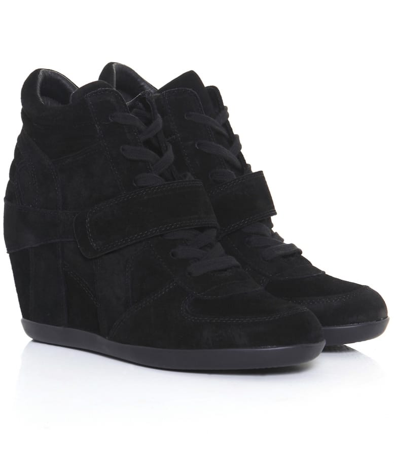 9e0badaf9df Ash Bowie Suede Wedge Trainers