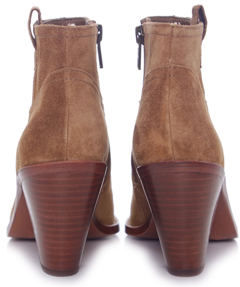 2af323e7857 Ivana Suede Ankle Boots