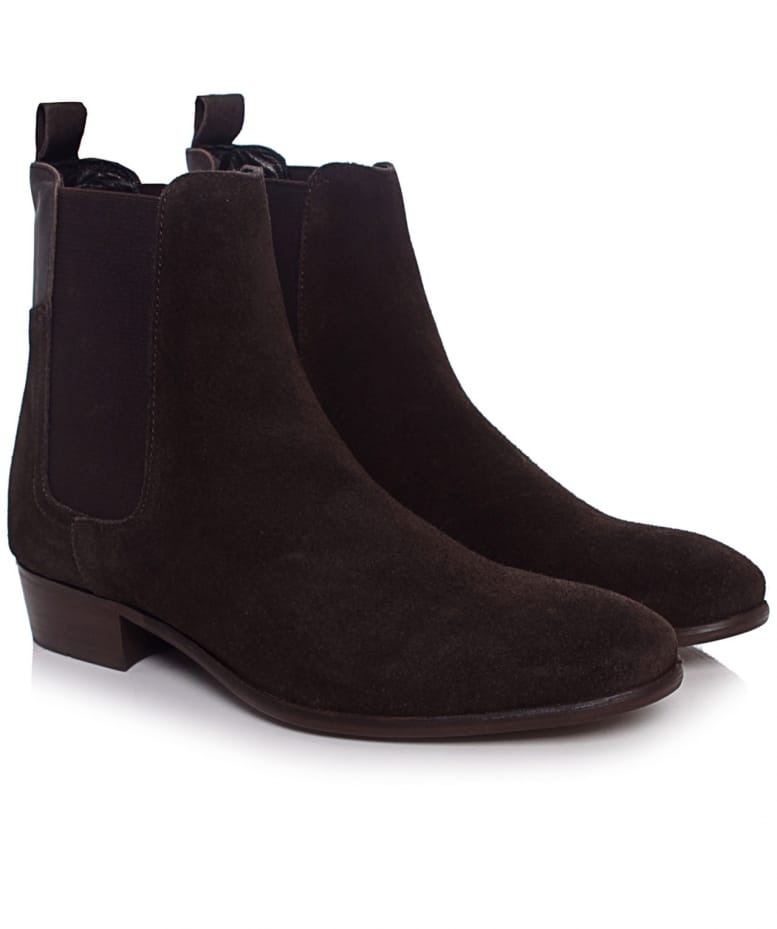 H by Hudson Brown Watts Suede Chelsea