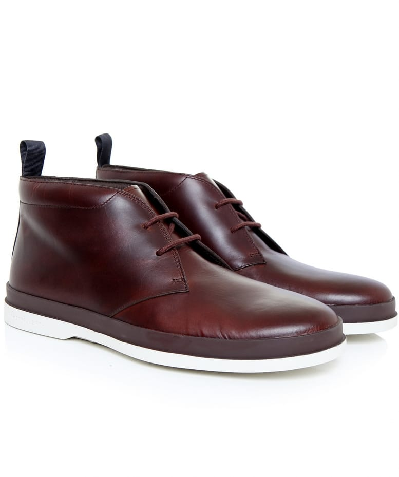 d66dc9a6a34 PS by Paul Smith Leather Inkie Boots