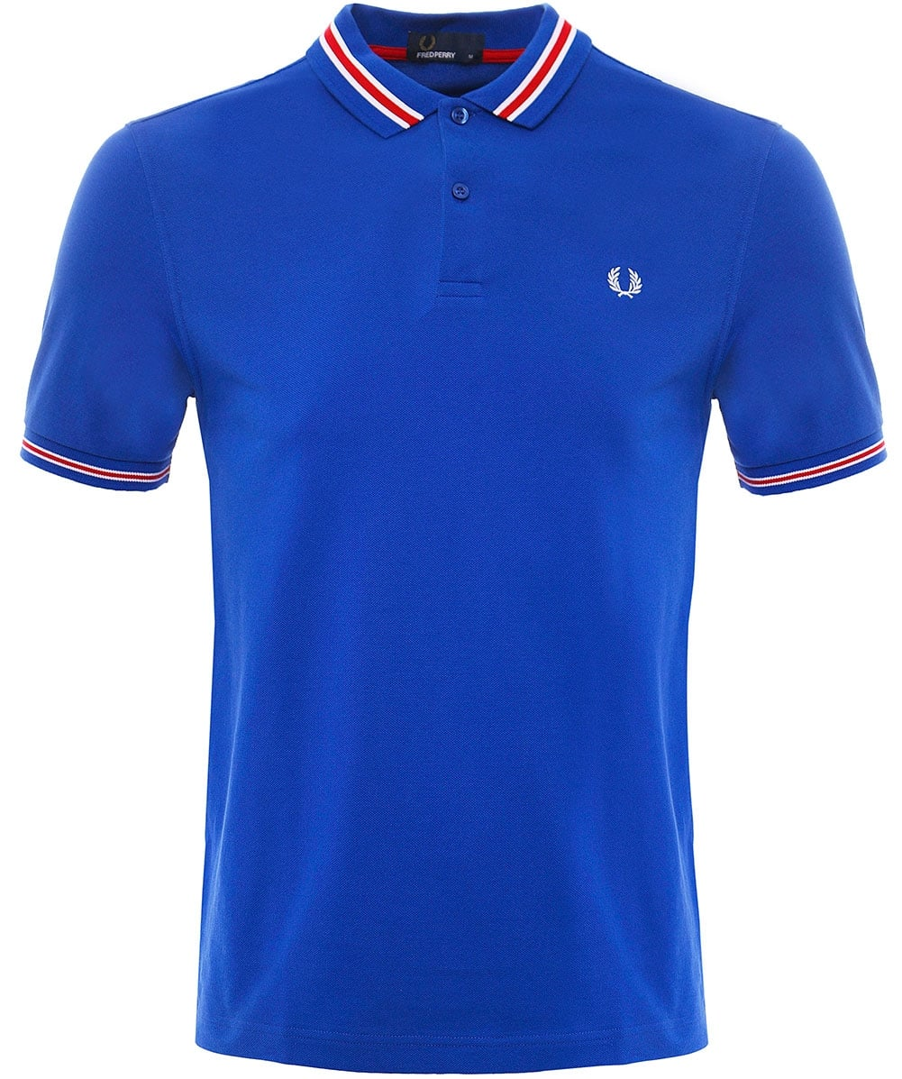 446a845a8 Fred Perry Bomber Striped Pique Polo Shirt M1578