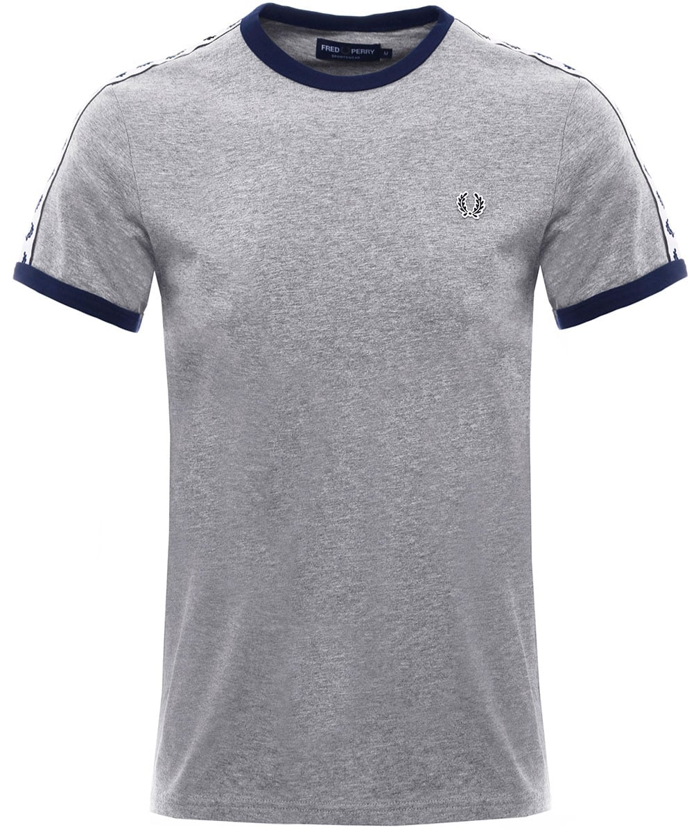 aee807e2 Fred Perry Steel Taped Ringer T-Shirt M6347 420   Jules B