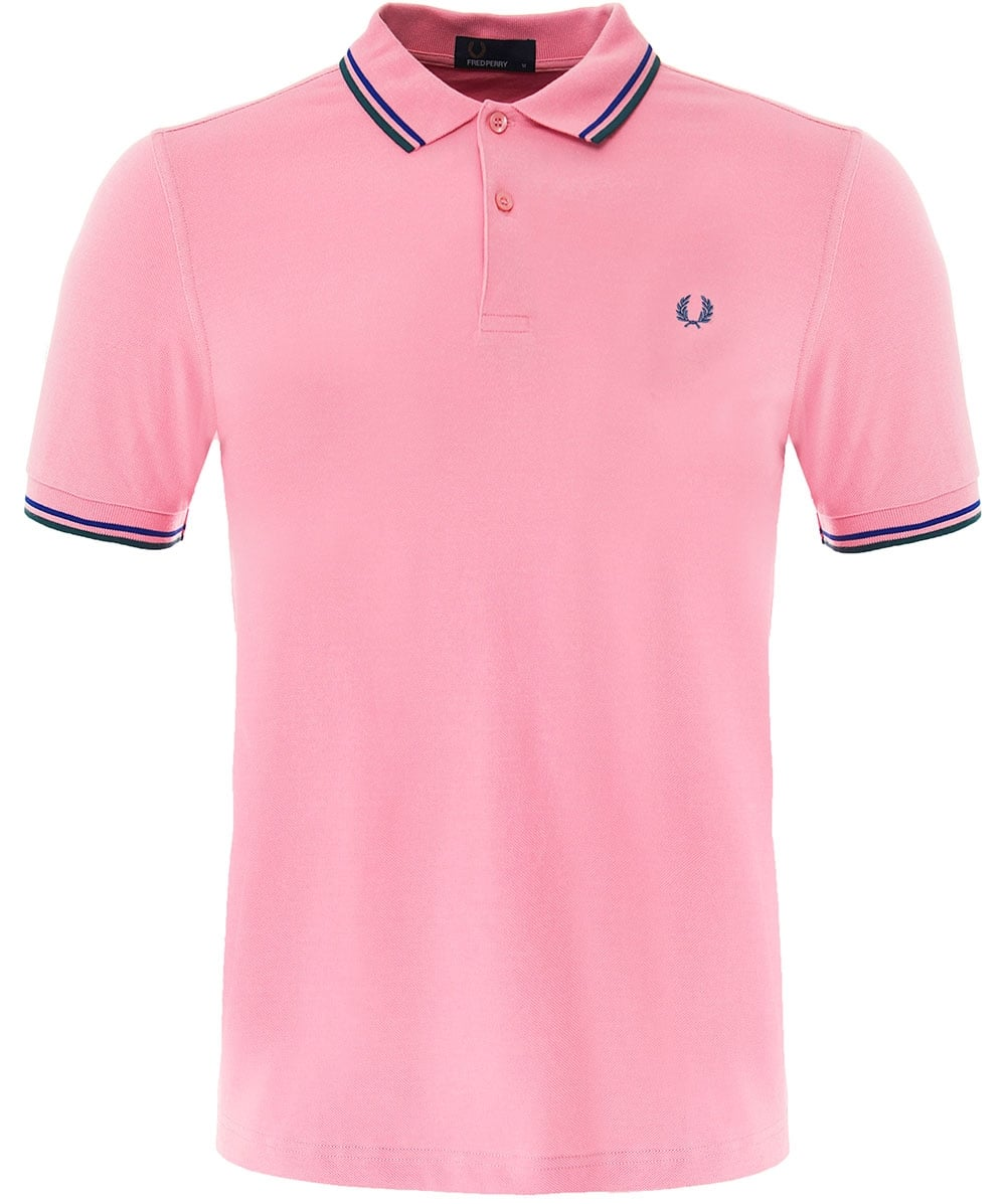 1e187e888dceb3 Fred Perry Pink Twin Tipped M3600 D20 Polo Shirt | Jules B