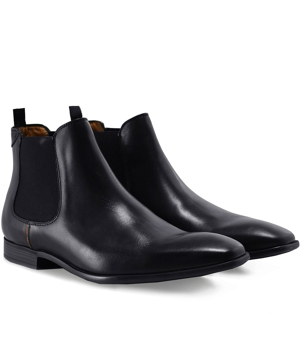 PS by Paul Smith Black Leather Falconer