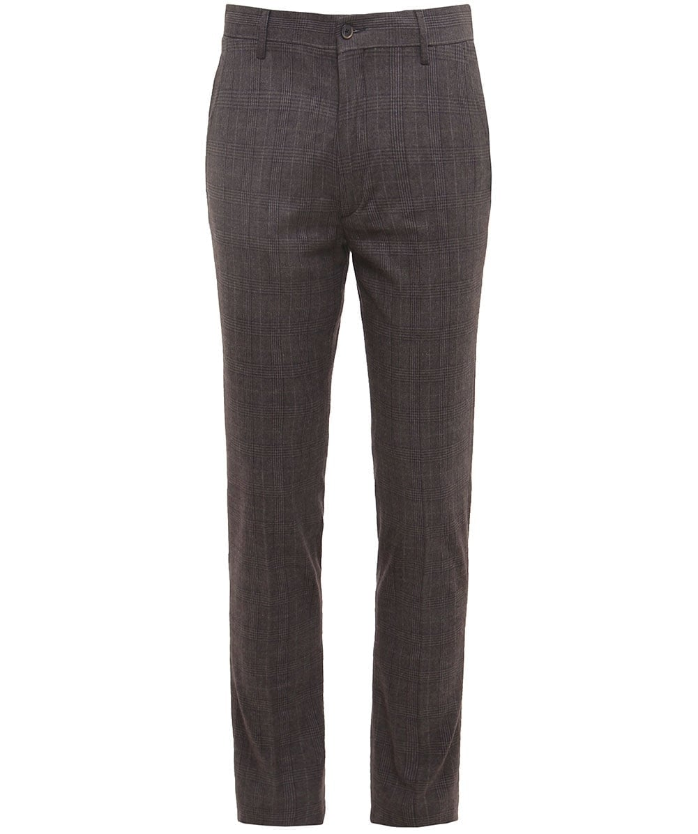 77d4e6d39a Hackett Slim Fit Cotton Prince of Wales Check Trousers