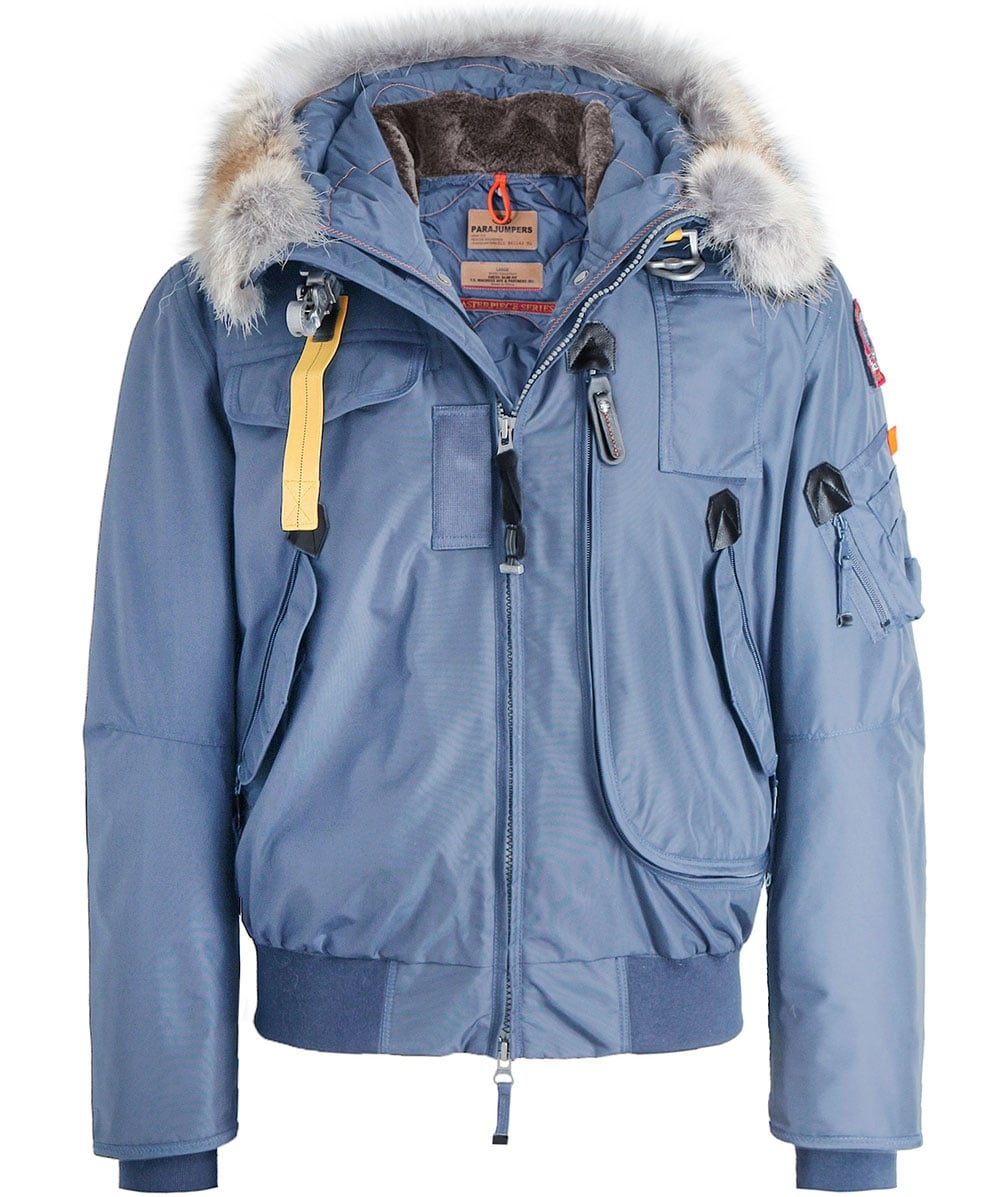 Hooded Gobi Bomber Jacket