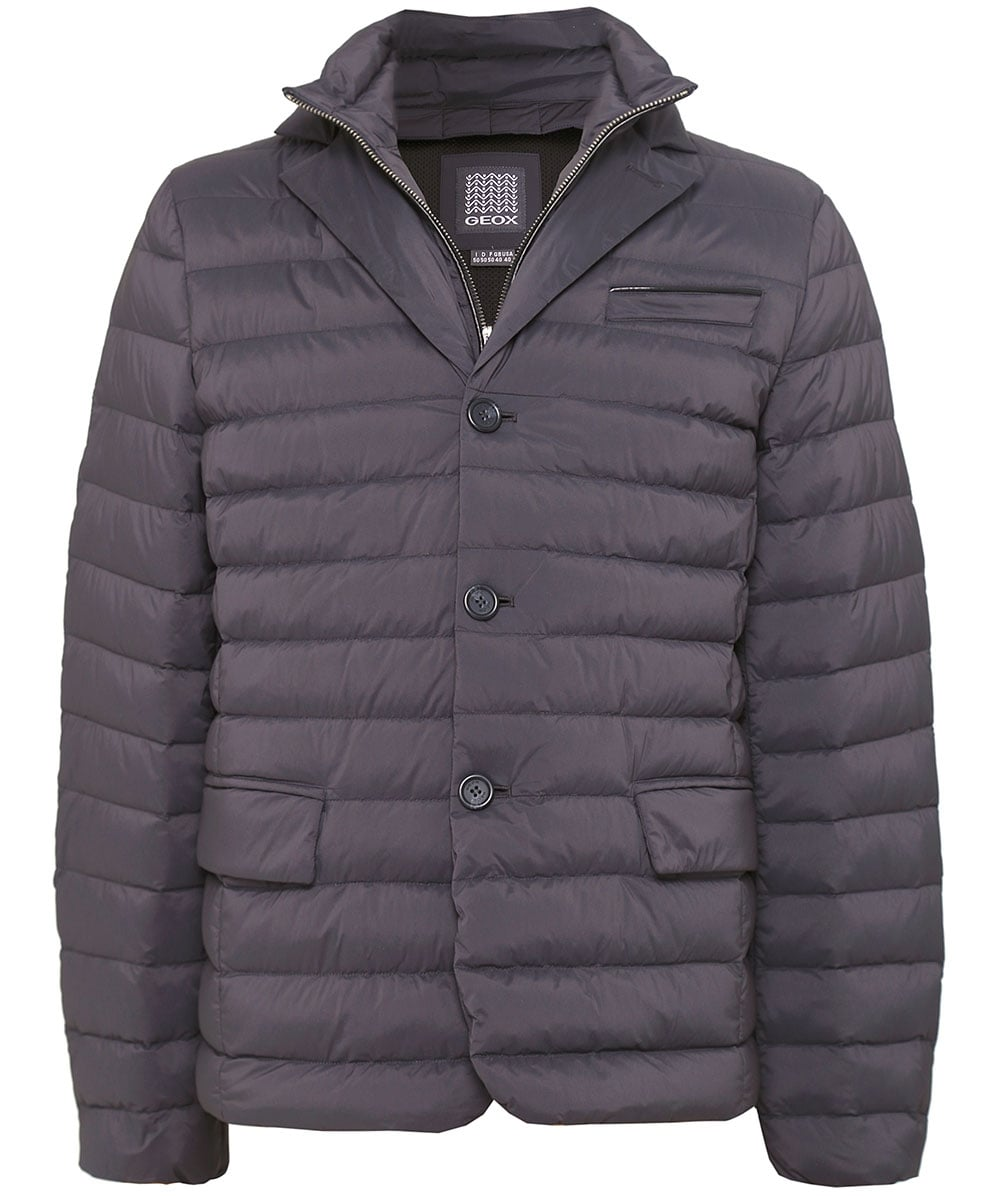 5f9d29a5ad Geox Quilted Down Blazer Jacket | Jules B
