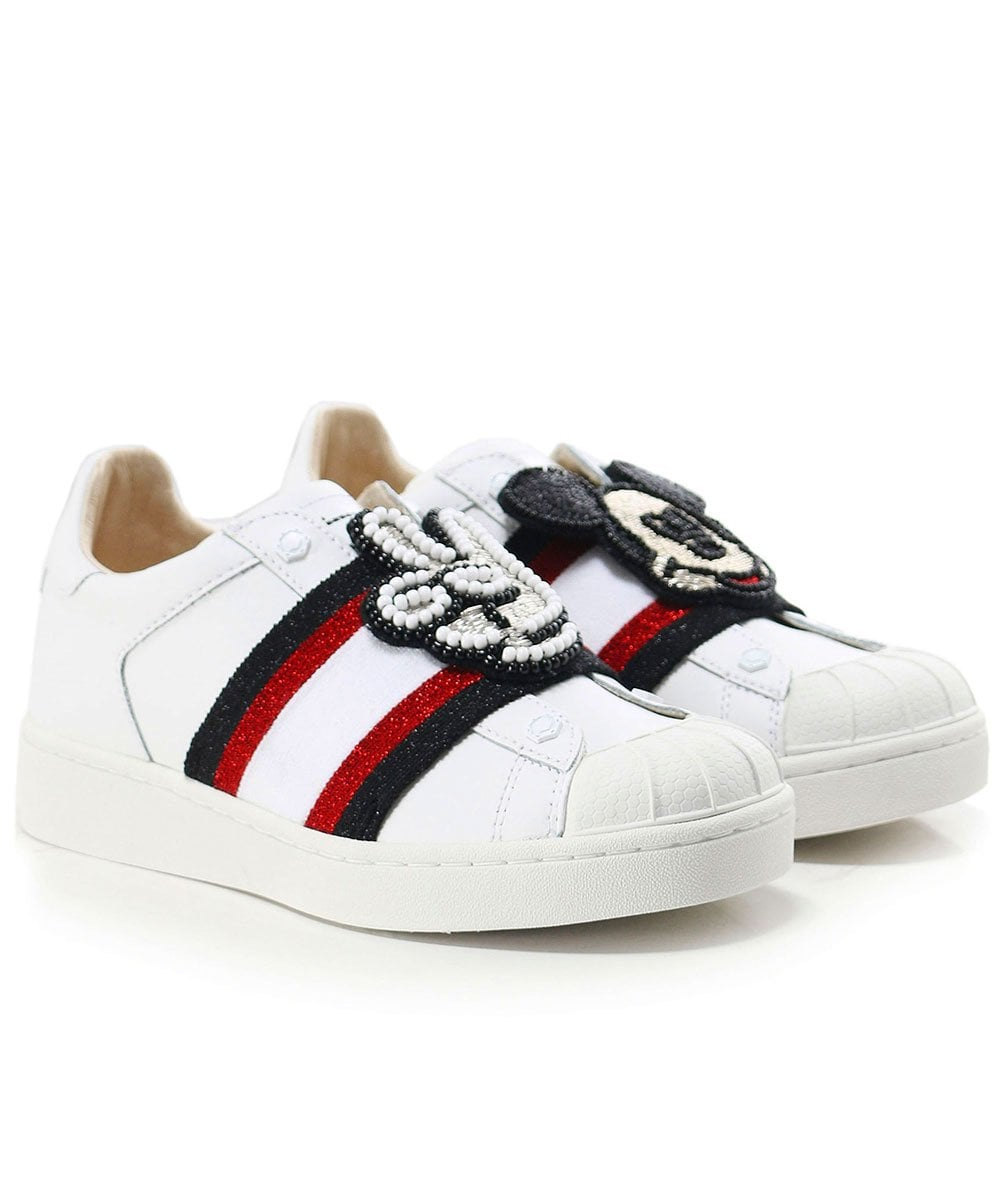 Disney Mickey Patch Trainers   Jules