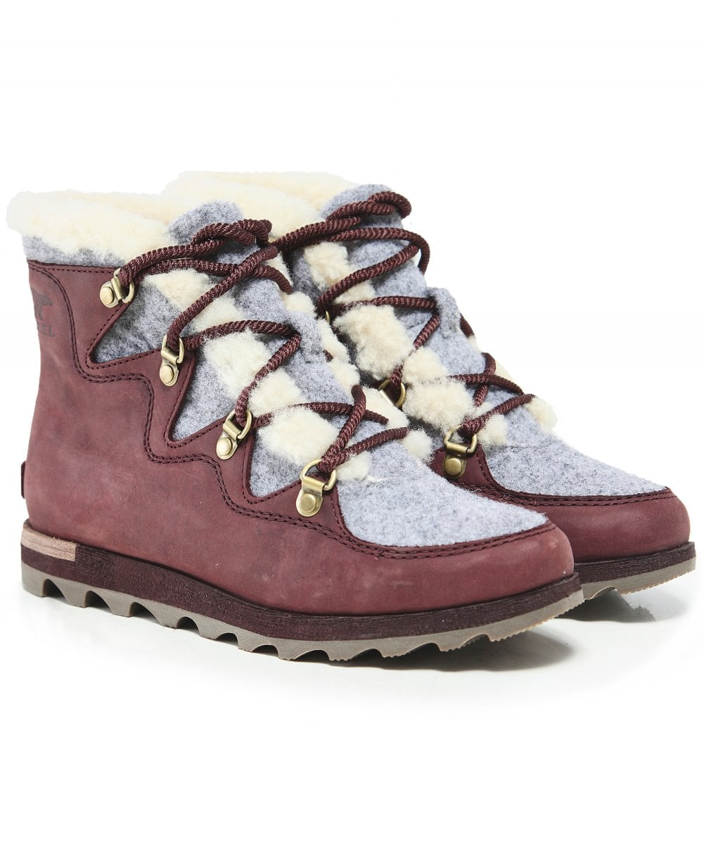 73af1581009 Sorel Brown Sneakchic Alpine Holiday Boots | Jules B