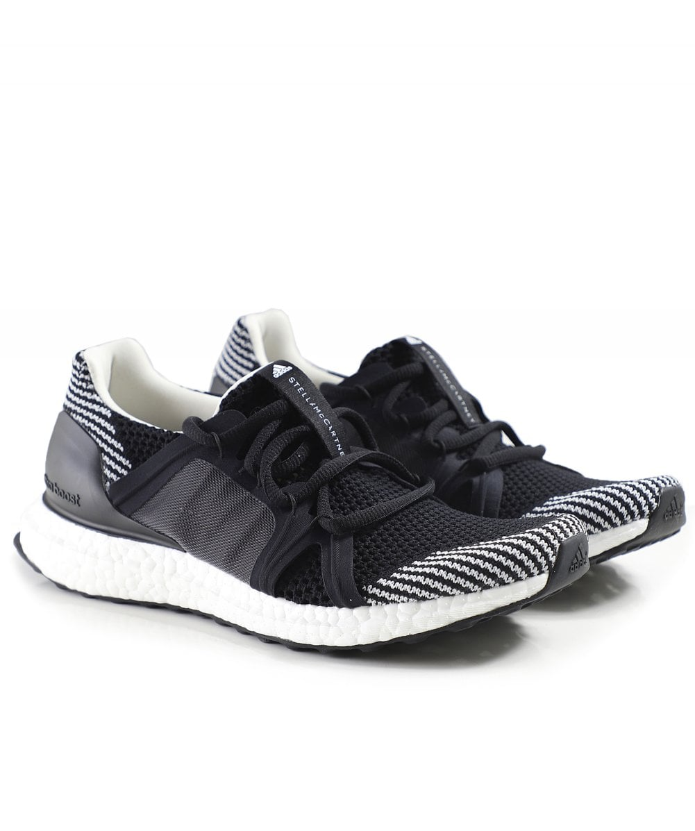 3cf34e2a53c adidas by Stella McCartney Black   White Ultraboost Trainers