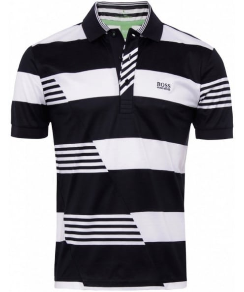 25439467 Hugo Boss Green | Men's Paddy 3 Polo Shirt | JULES B